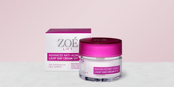 Gratis testen: Zoé Lift Light Day Cream