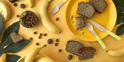 Banana bread senza zuccheri cristallizzati
