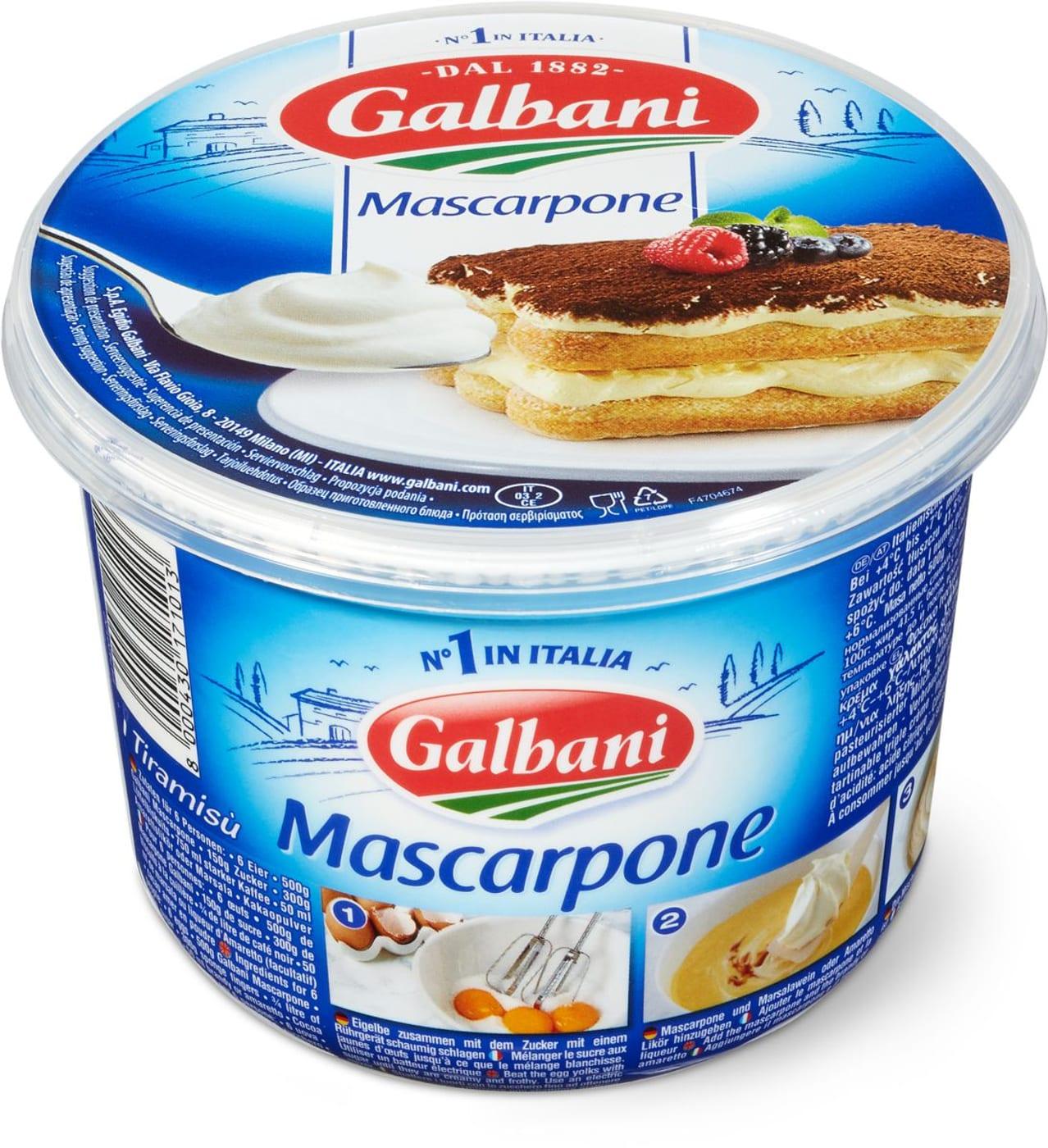 Galbani mascarpone migros for What to do with mascarpone