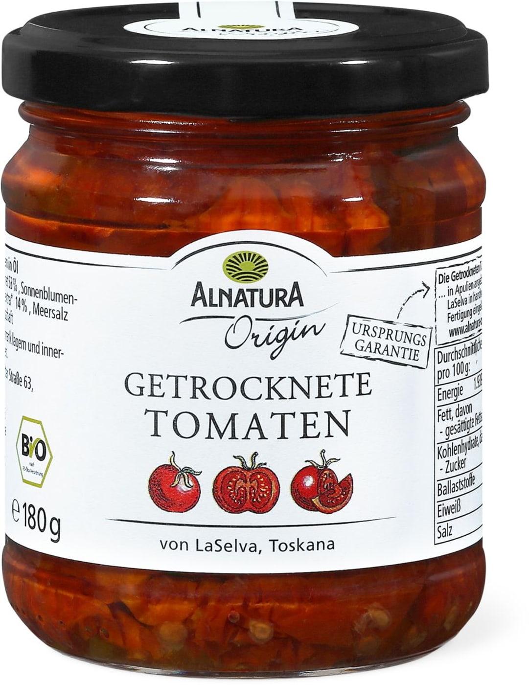 alnatura origin getrocknete tomaten migros. Black Bedroom Furniture Sets. Home Design Ideas