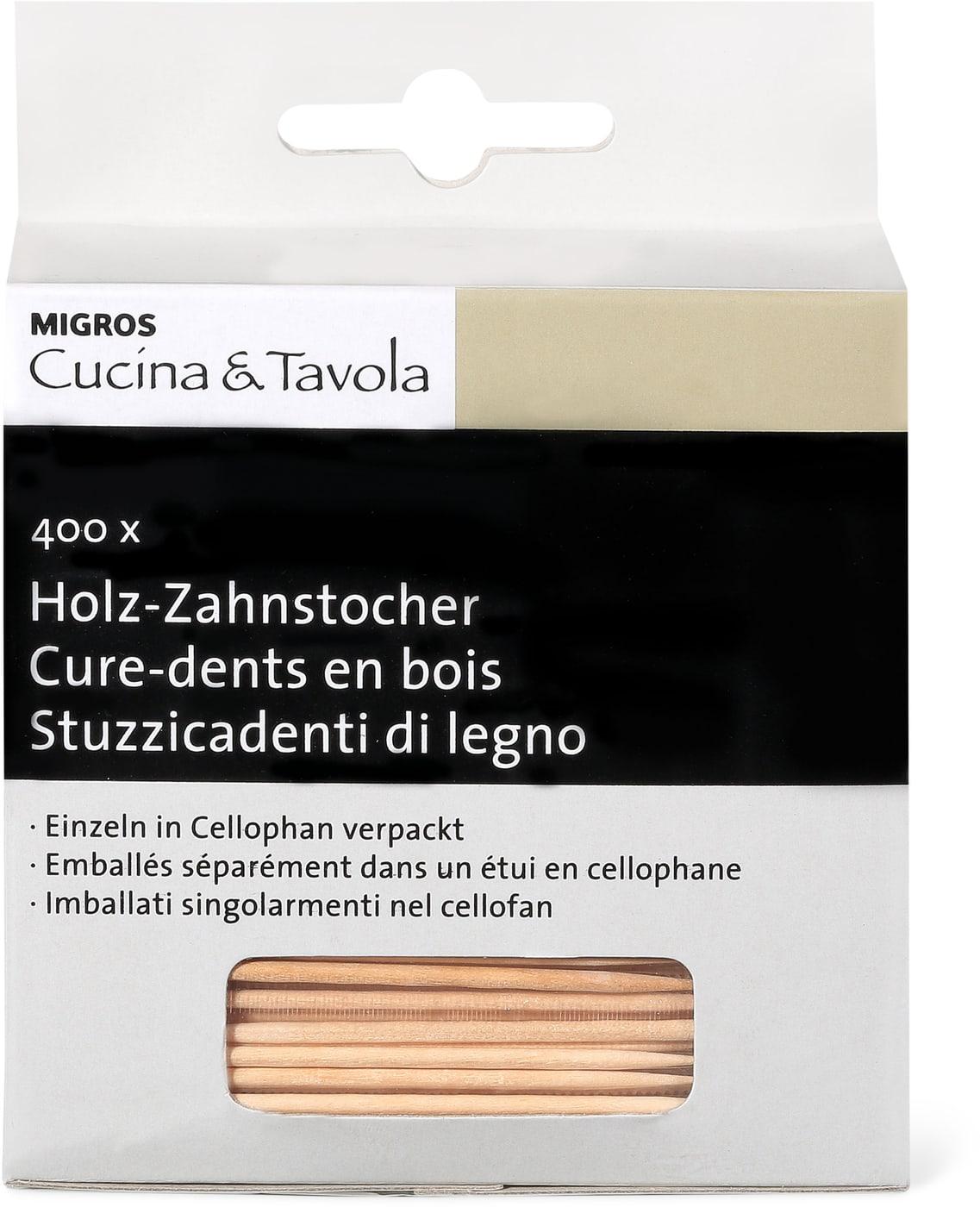 Holz zahnstocher cucina tavola migros for Cucina tavola