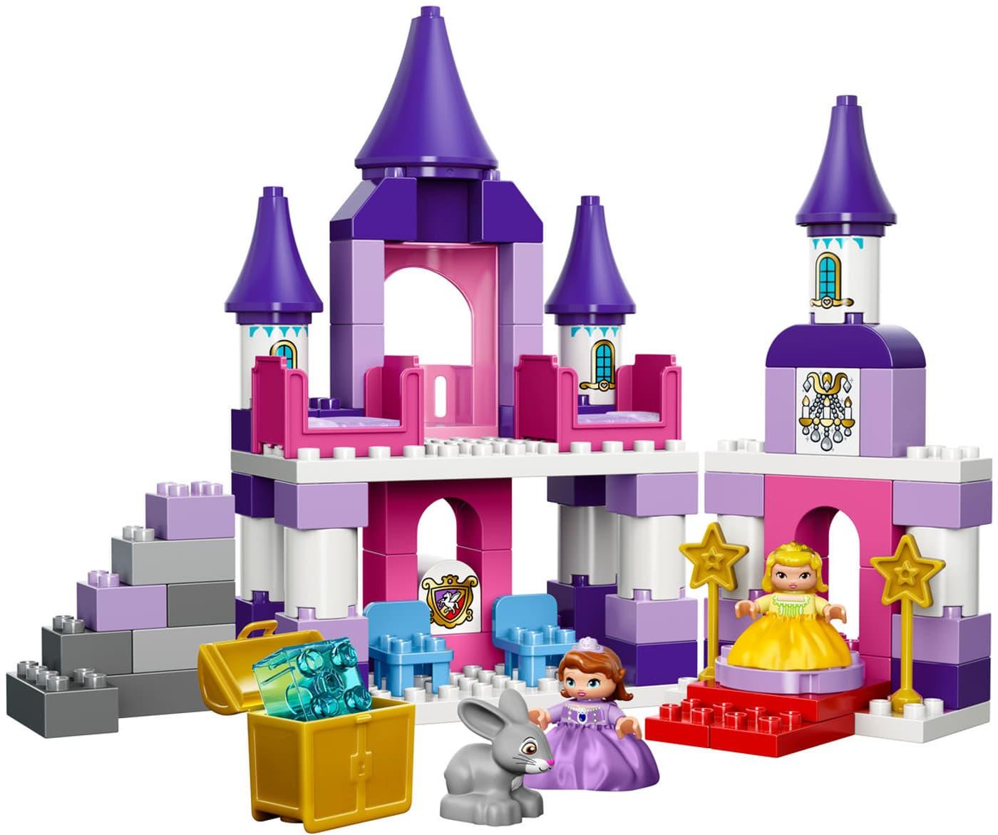 Lego duplo sofia the first le château royal de la princesse sofia ...