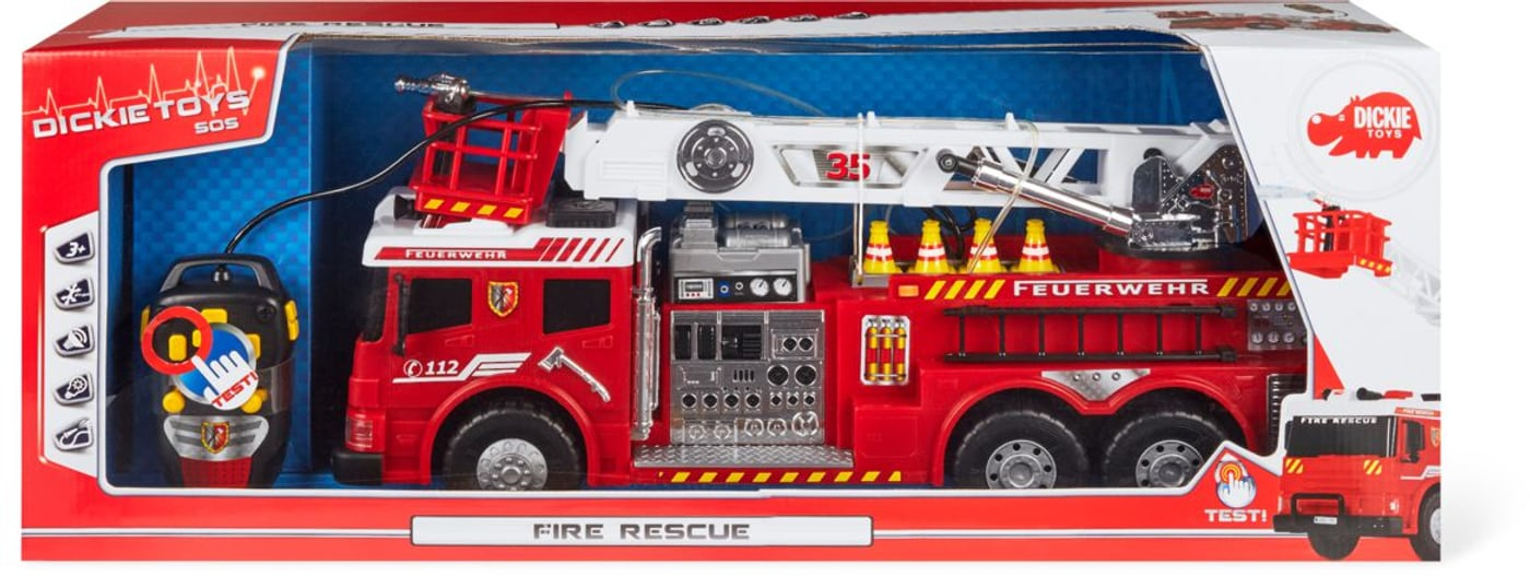 Swiss fire department games