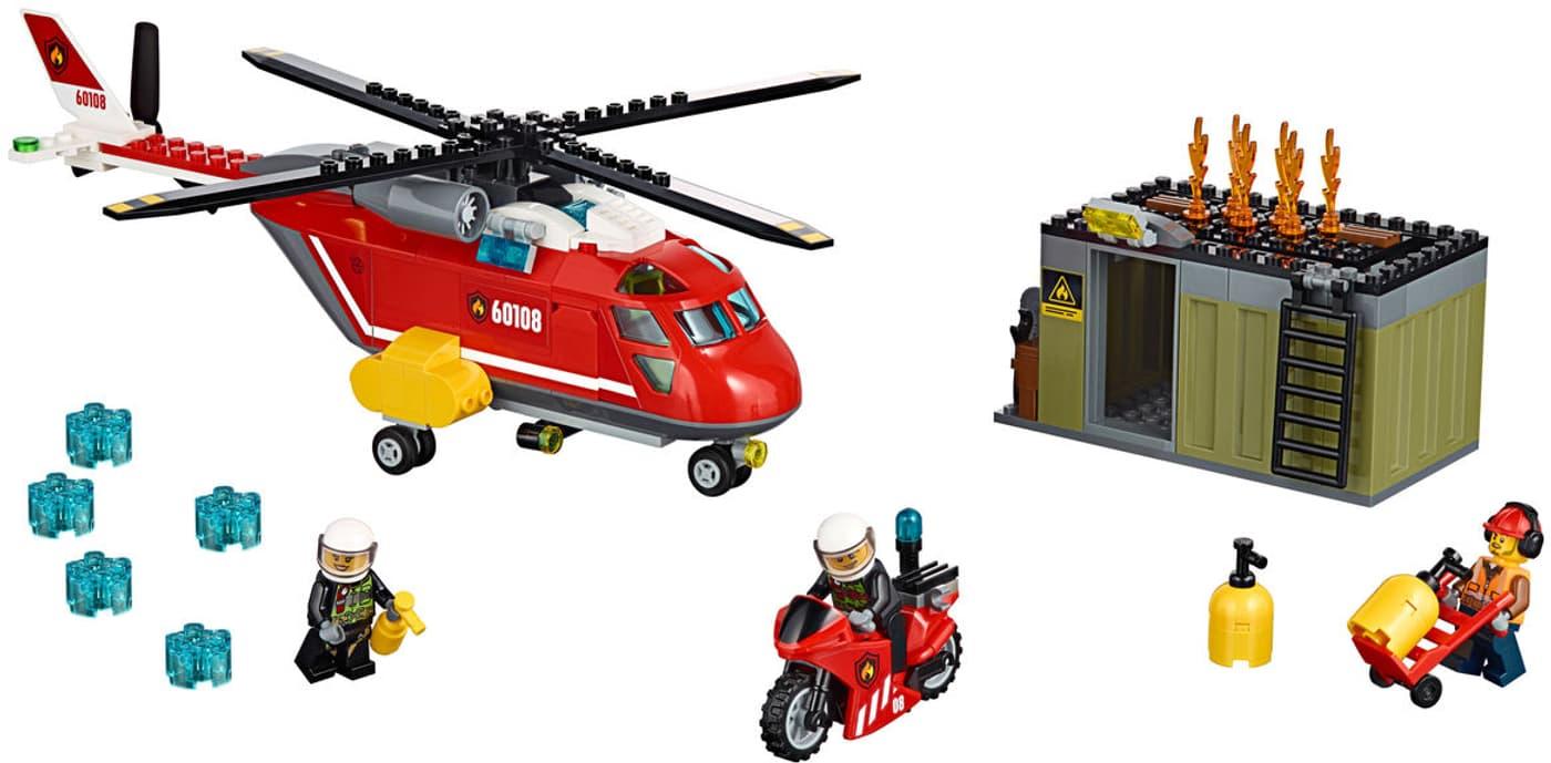Lego city feuerwehr l scheinheit 60108 migros for Micasa martigny