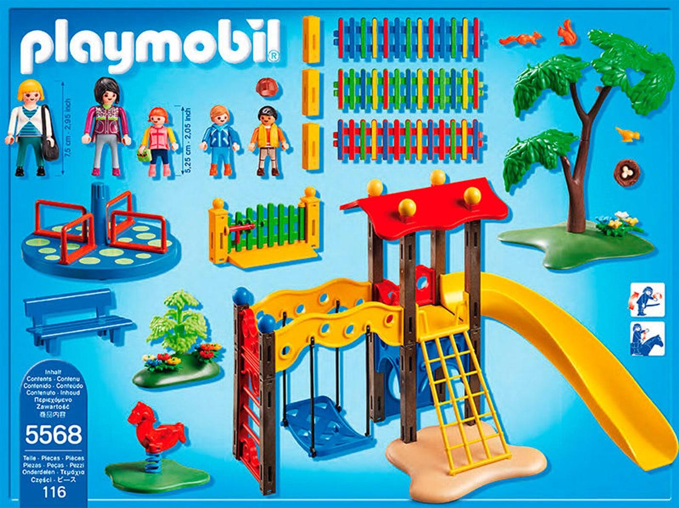 playmobil city life square pour enfants avec jeux 5568 migros. Black Bedroom Furniture Sets. Home Design Ideas