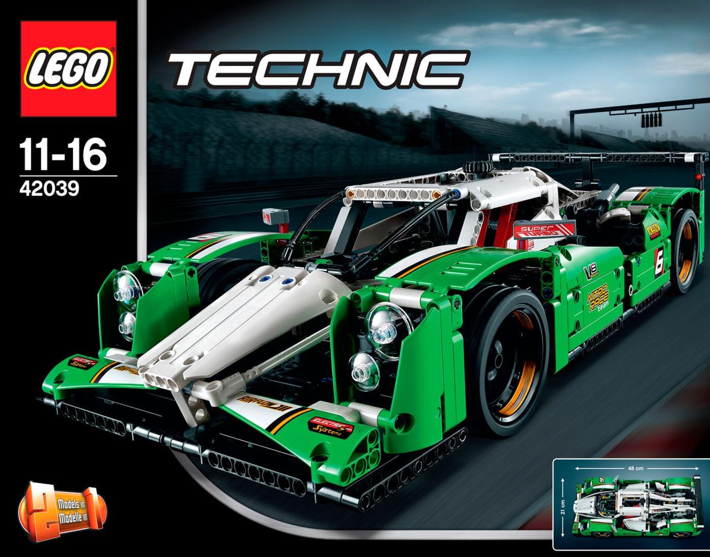 lego technic langstrecken rennwagen 42039 migros. Black Bedroom Furniture Sets. Home Design Ideas
