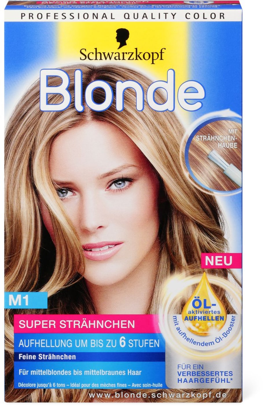 Schwarzkopf Blonde Strähnchen-S.-A. M1 | Migros