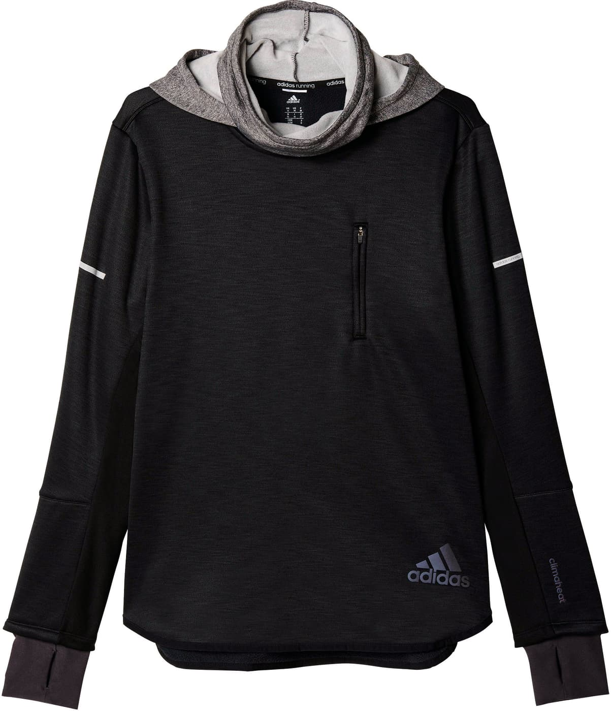 adidas herren running kapuzenpullover sequencials ch hoody m migros. Black Bedroom Furniture Sets. Home Design Ideas