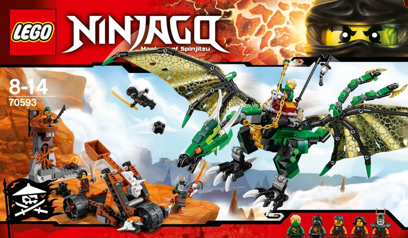 Lego ninjago der gr ne energie drache 70593 migros - Lego ninjago d or ...
