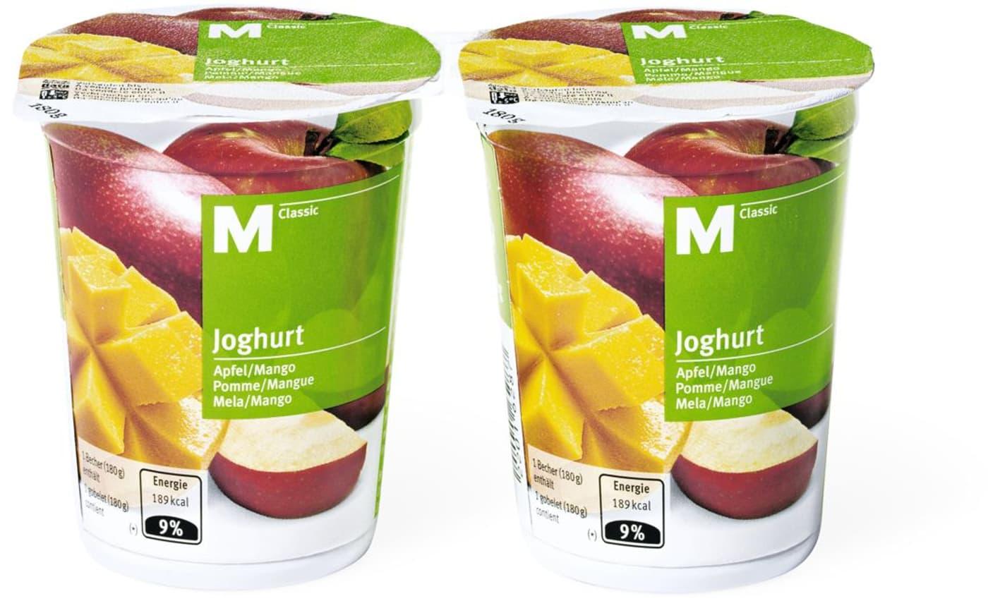 M classic joghurt apfel mango migros for Micasa martigny