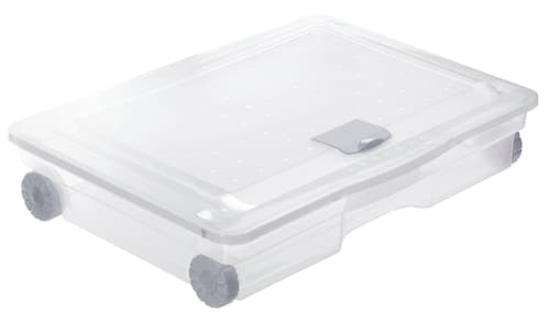 Cassetto Sotto Letto Con Ruote : Rotho box sottoletto comprare da do it garden