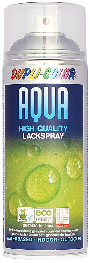 Aqua Lackspray Silber seidenmatt