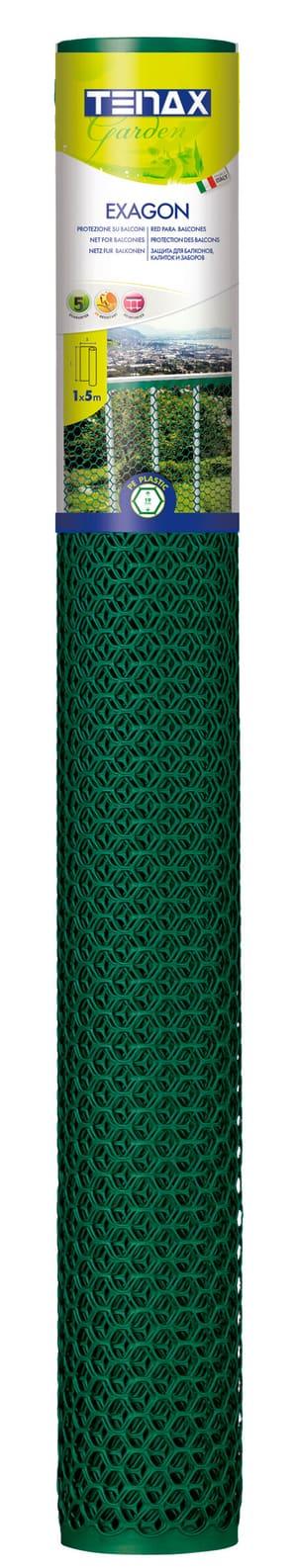 Kunststoffgitter EXAGON grün