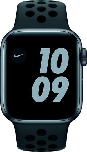 Watch Nike SE LTE 40mm Space Gray Aluminium Anthracite/Black Nike Sport Band