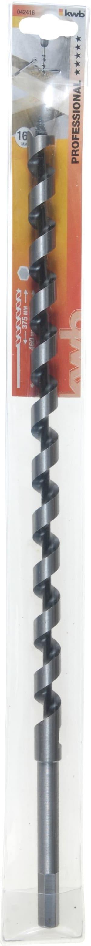 Schlangenbohrer, 460 mm, ø 16 mm