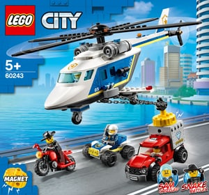 LEGO CITY 60243 Inseguimento sull