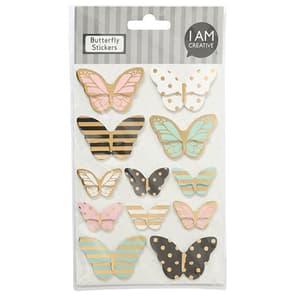 Foliensticker, Butterfly