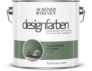 Designfarbe Ausgeglichenes Piniengrün 2,5 l