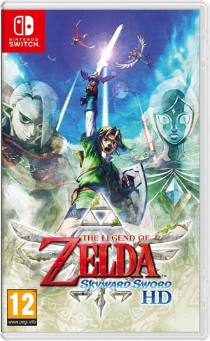 NSW - The Legend of Zelda: Skyward Sword HD
