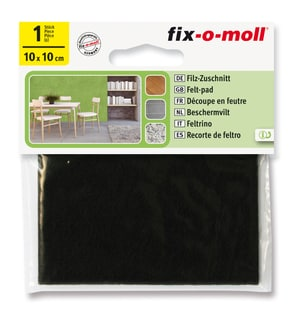 Filz-Zuschnitt 3 mm / 100 x 100 mm 1 x