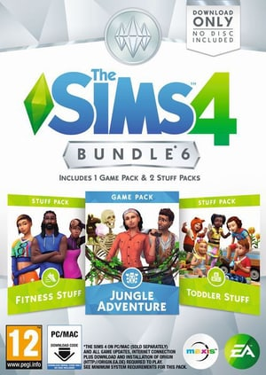 PC - The Sims 4 - Bundle 6