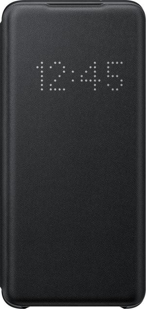 Book-Cover avec Affichage LED Noire