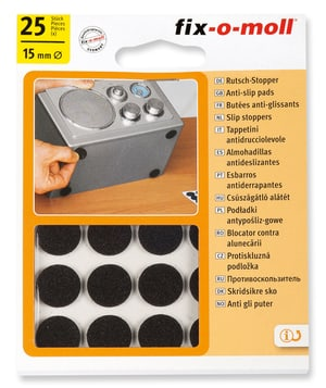 Anti-Rutsch-Pads 2.5 mm / Ø 15 mm 25 x