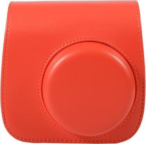 Instax Mini 8 Leather Case Red