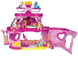 10/09 XL MLP PONYVILLE PARTYTORTE SAUSES