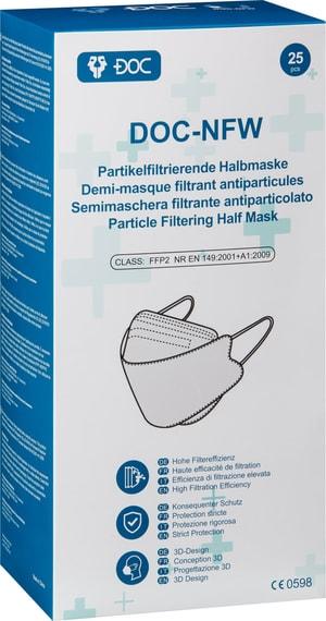 FFP2-Atemschutzmaske, 25 Stk., einzeln verpackt