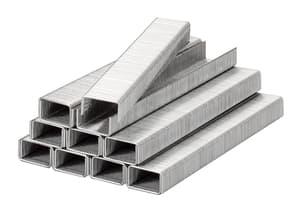 Klammern, Feindraht, Stahl, 11,4 mm x 10 mm