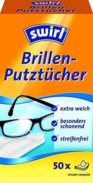 Brillen-Putztücher 50Stk