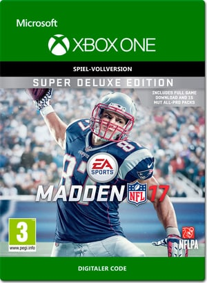 Xbox One - Madden NFL 17: Super Deluxe Edition
