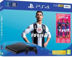 Playstation 4 Slim 500 GB incl. Fifa 19