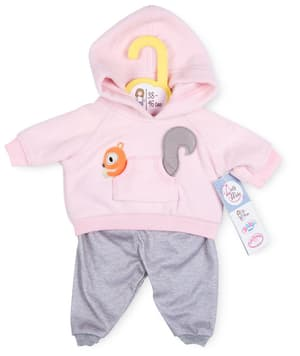 Dolly Moda Sport Outfit pink 38-46cm