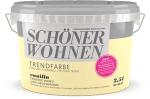 Trend Wandfarbe matt Vanilla 2.5 l