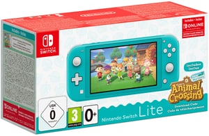 Nintendo Switch Lite Türkis + Animal Crossing New Horizon + NSO