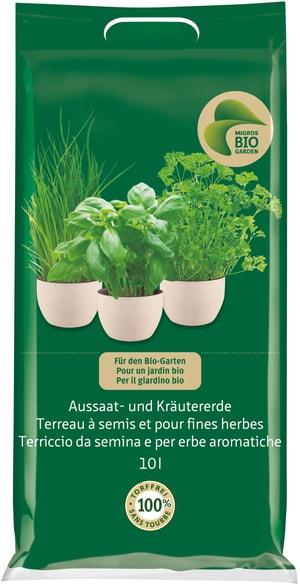 Terreau à semis et pour fines herbes, 10 l