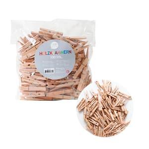 Holzklammern, 48 mm, 100 Stk.