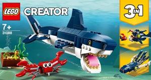 Creator 31088 Les créatures sous-marines