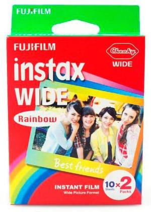 Instax Wide Rainbow 2x10 Blatt