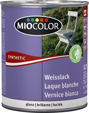 Synthetic Weisslack glanz weiss 750 ml