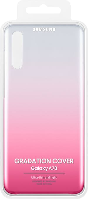 Gradation Cover A70 Pink