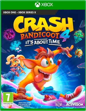 XBOX ONE - Crash Bandicoot 4 : It`s About Time (I)