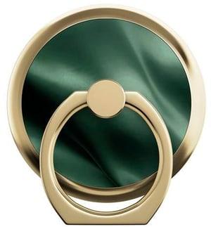 Selfie-Ring Emerald Satin