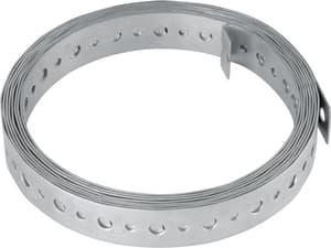 Universallochband verzinkt 20 x 0.8 mm/3 m