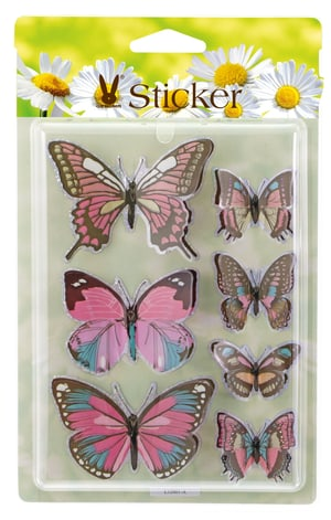 Schmetterling-Sticker
