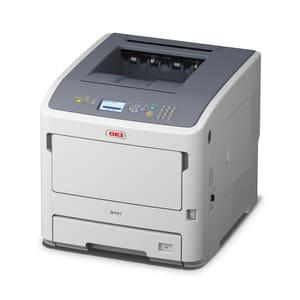 OKI B731dnw Monodrucker Duplex und WiFi