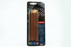 6 matite Derwent Metalli luminose
