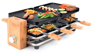 Raclette Bamboo, 8 personnes